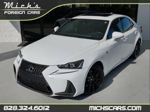 2017 Lexus IS 200t for sale at Mich's Foreign Cars in Hickory NC