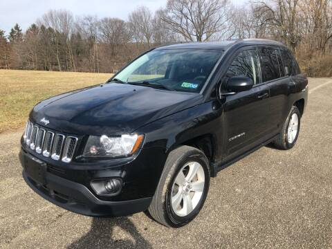 2015 Jeep Compass for sale at Hutchys Auto Sales & Service in Loyalhanna PA