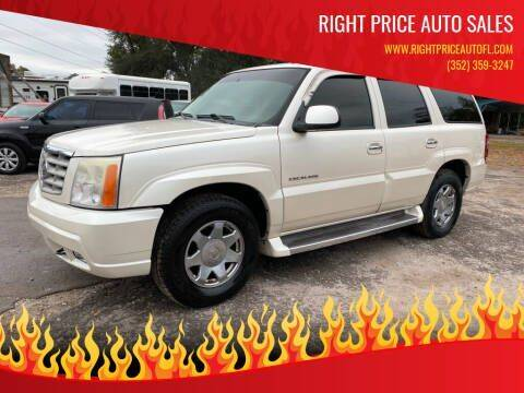 2006 Cadillac Escalade for sale at Right Price Auto Sales in Waldo FL