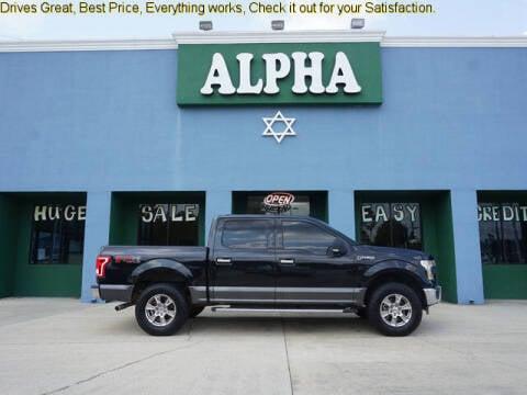 2015 Ford F-150 for sale at ALPHA AUTOMOBILE SALES, LLC in Lafayette LA