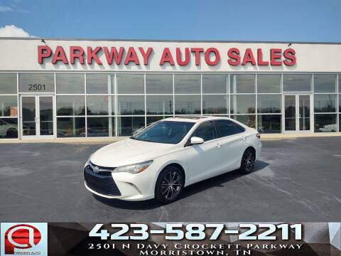 2015 Toyota Camry for sale at Parkway Auto Sales, Inc. in Morristown TN