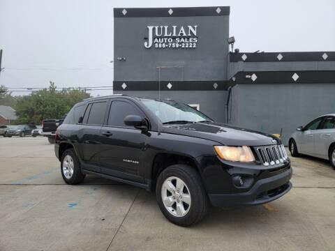 2013 Jeep Compass for sale at Julian Auto Sales, Inc. in Warren MI