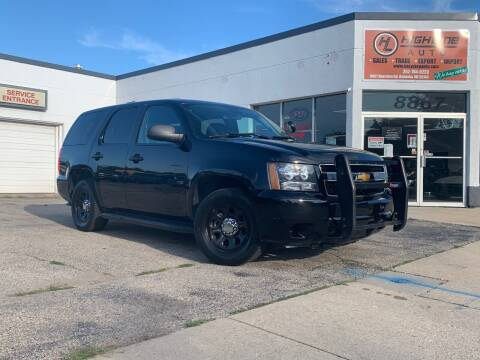 2014 Chevrolet Tahoe for sale at HIGHLINE AUTO LLC in Kenosha WI