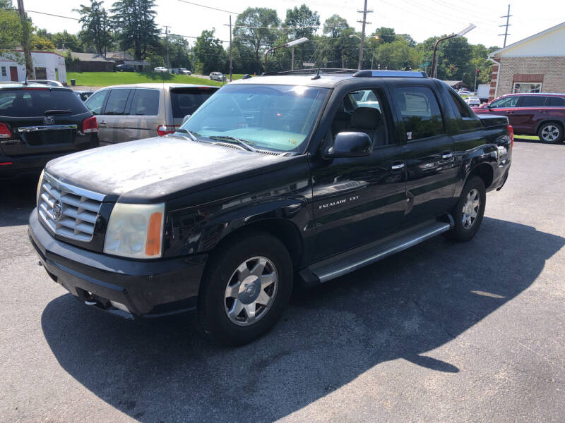 2005 Cadillac Escalade EXT for sale at J & J Autoville Inc. in Roanoke VA