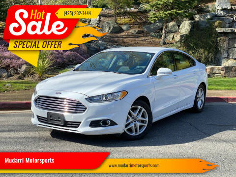 2016 Ford Fusion for sale at Mudarri Motorsports in Kirkland WA