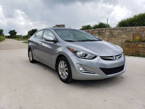 2015 Hyundai Elantra for sale at Hi-Tech Automotive - Congress in Austin TX