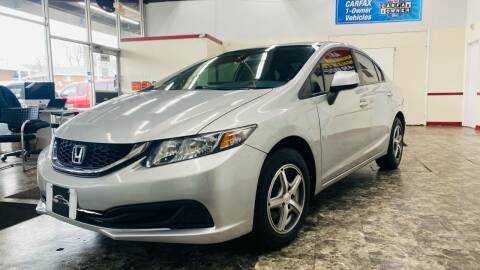 2013 Honda Civic for sale at TOP YIN MOTORS in Mount Prospect IL