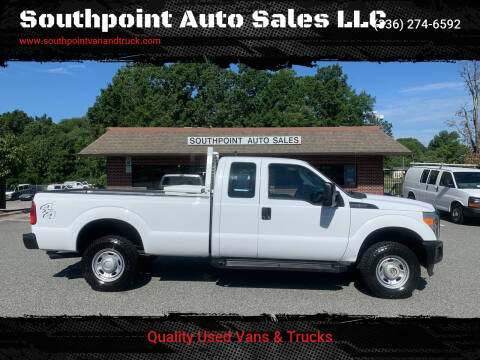 2014 Ford F-250 Super Duty for sale at Southpoint Auto Sales LLC in Greensboro NC