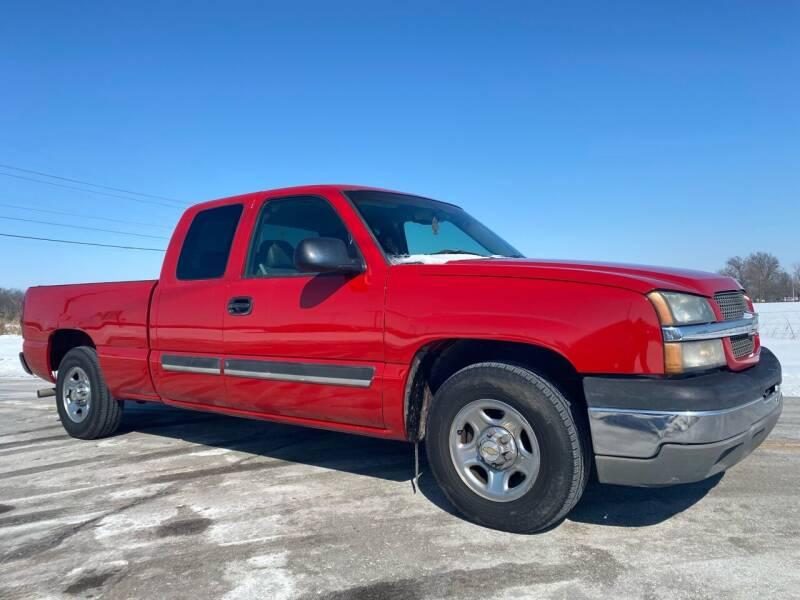 2003 Chevrolet Silverado 1500 for sale at ILUVCHEAPCARS.COM in Tulsa OK