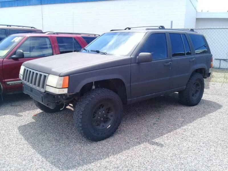 1996 Jeep Grand Cherokee for sale at 1ST AUTO & MARINE in Apache Junction AZ