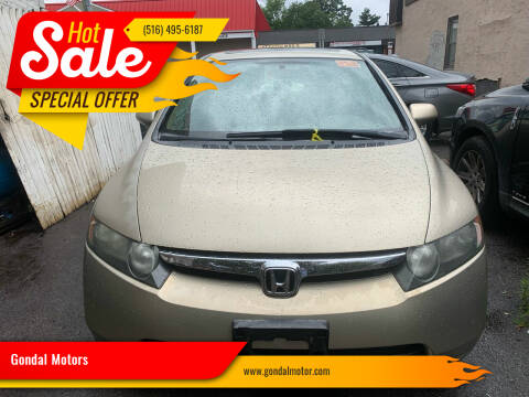 2007 Honda Civic for sale at Gondal Motors in West Hempstead NY