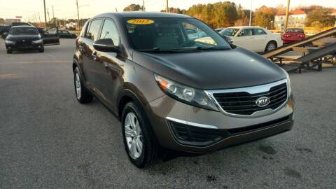 2012 Kia Sportage for sale at Kelly & Kelly Supermarket of Cars in Fayetteville NC