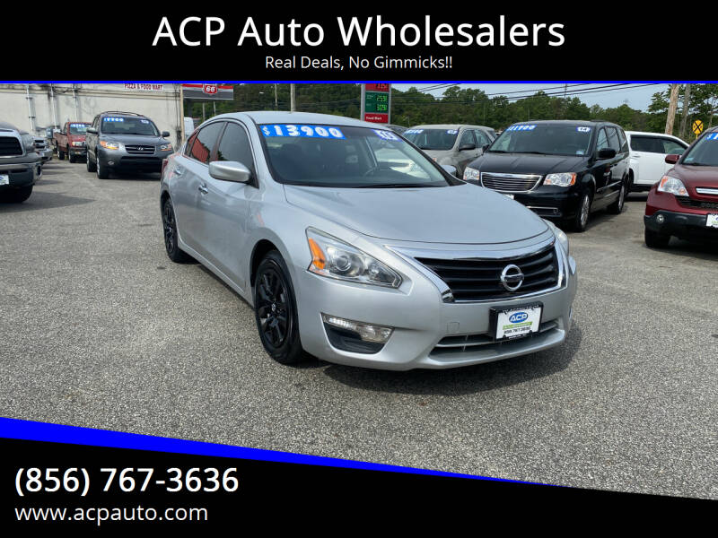 2015 Nissan Altima for sale at ACP Auto Wholesalers in Berlin NJ