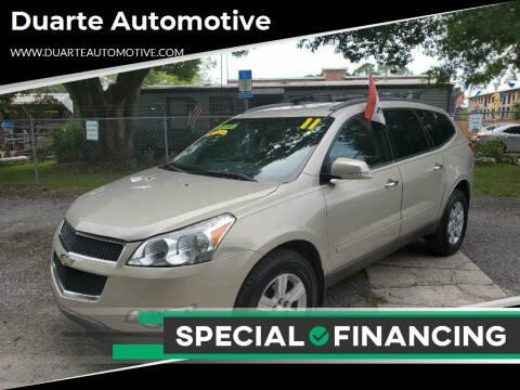 2011 Chevrolet Traverse for sale at Duarte Automotive in Jacksonville FL