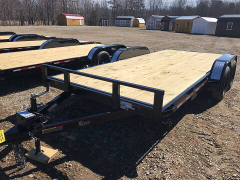 2021 zRettig 16ft flatbed for sale at Greg's Auto Sales in Searsport ME