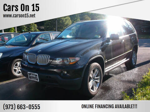 2006 BMW X5 for sale at Cars On 15 in Lake Hopatcong NJ