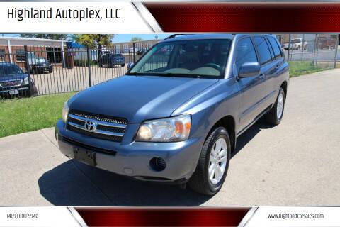 2006 Toyota Highlander Hybrid for sale at Highland Autoplex, LLC in Dallas TX