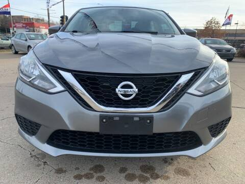 2017 Nissan Sentra for sale at Minuteman Auto Sales in Saint Paul MN