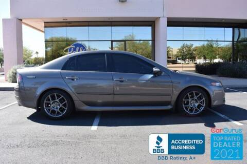 2008 Acura TL for sale at GOLDIES MOTORS in Phoenix AZ