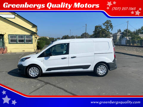 2018 Ford Transit Connect Cargo for sale at Greenbergs Quality Motors in Napa CA