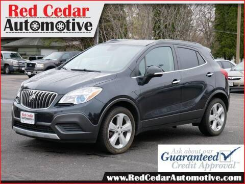 2016 Buick Encore for sale at Red Cedar Automotive in Menomonie WI
