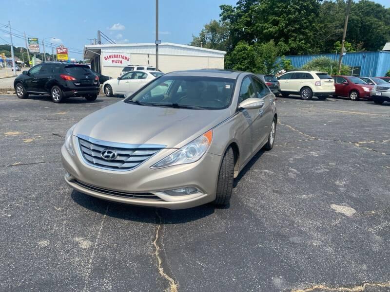 2011 Hyundai Sonata for sale at M & J Auto Sales in Attleboro MA