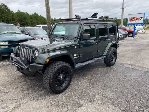 2011 Jeep Wrangler Unlimited for sale at Billy Ballew Motorsports in Dawsonville GA