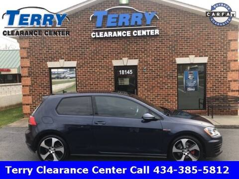 2017 Volkswagen Golf GTI for sale at Terry Clearance Center in Lynchburg VA