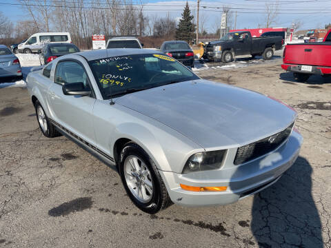 2006 Ford Mustang for sale at Peter Kay Auto Sales in Alden NY