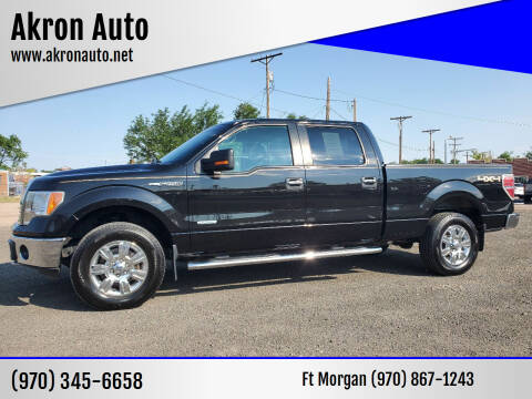 2012 Ford F-150 for sale at Akron Auto - Fort Morgan in Fort Morgan CO