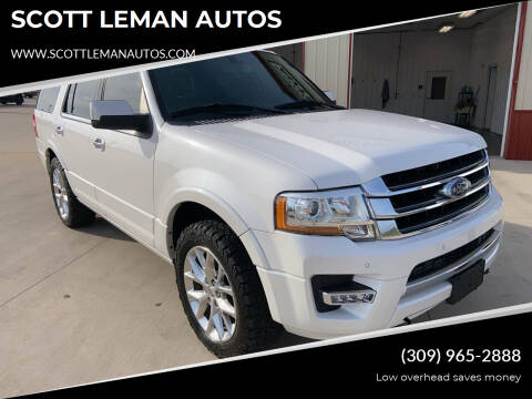 2016 Ford Expedition for sale at SCOTT LEMAN AUTOS in Goodfield IL