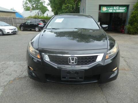 2010 Honda Accord for sale at Wheels and Deals in Springfield MA