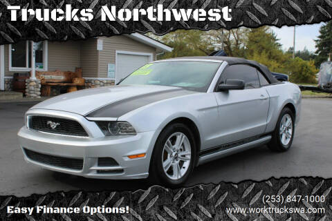 2013 Ford Mustang for sale at Trucks Northwest in Spanaway WA