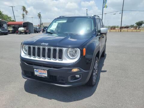 2016 Jeep Renegade for sale at Mid Valley Motors in La Feria TX