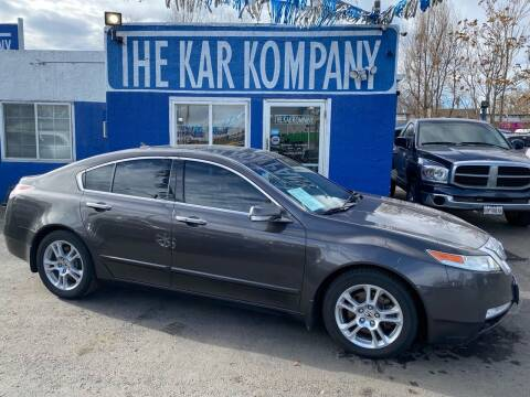 2009 Acura TL for sale at The Kar Kompany Inc. in Denver CO