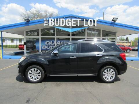2011 Chevrolet Equinox for sale at THE BUDGET LOT in Detroit MI