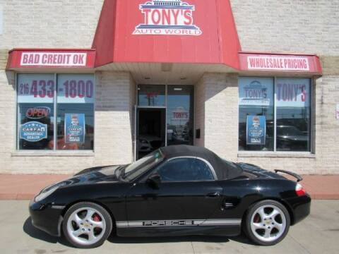 2002 Porsche Boxster for sale at Tony's Auto World in Cleveland OH