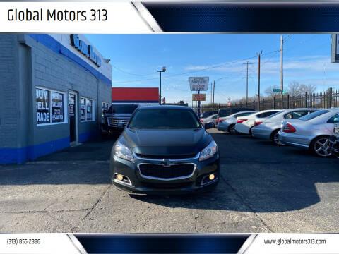 2015 Chevrolet Malibu for sale at Global Motors 313 in Detroit MI