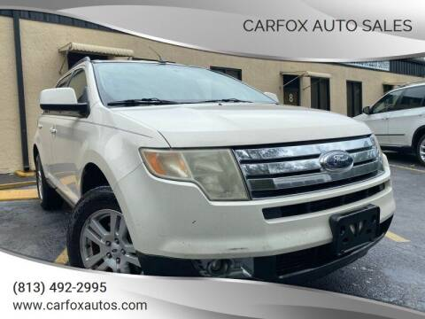 2008 Ford Edge for sale at Carfox Auto Sales in Tampa FL
