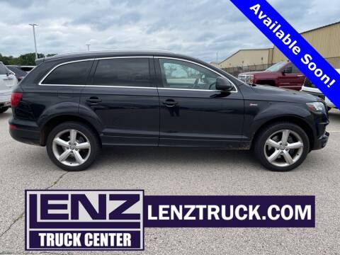 2012 Audi Q7 for sale at LENZ TRUCK CENTER in Fond Du Lac WI