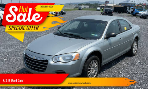 2006 Chrysler Sebring for sale at A & R Used Cars in Clayton NJ