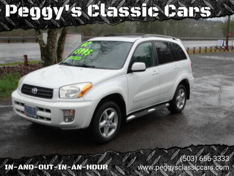2002 Toyota RAV4 for sale at Peggy's Classic Cars in Oregon City OR