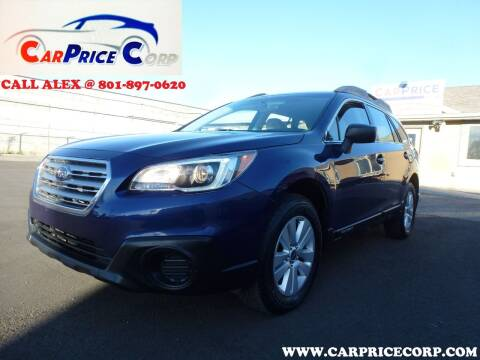 2017 Subaru Outback for sale at CarPrice Corp in Murray UT