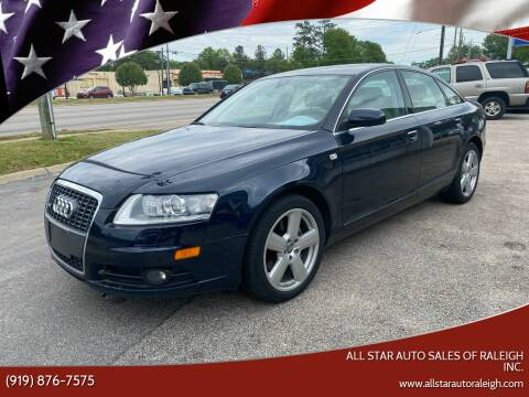 2008 Audi A6 for sale at All Star Auto Sales of Raleigh Inc. in Raleigh NC