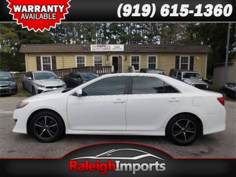 2013 Toyota Camry for sale at Raleigh Imports in Raleigh NC
