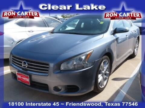2011 Nissan Maxima for sale at Ron Carter  Clear Lake Used Cars in Houston TX