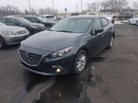 2015 Mazda MAZDA3 for sale at Nonstop Motors in Indianapolis IN