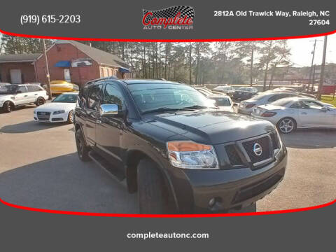 2012 Nissan Armada for sale at Complete Auto Center , Inc in Raleigh NC