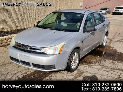 2008 Ford Focus for sale at Harvey Auto Sales, LLC. in Flint MI