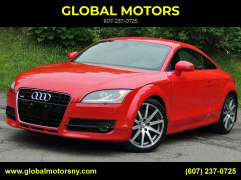 2008 Audi TT for sale at GLOBAL MOTORS in Binghamton NY